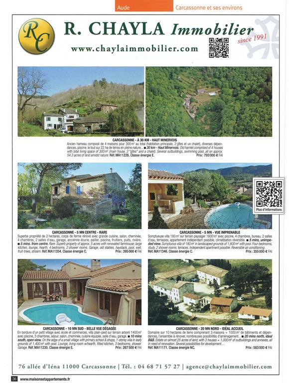 Advertisement | Simply Languedoc Properties | Properties For Sale In